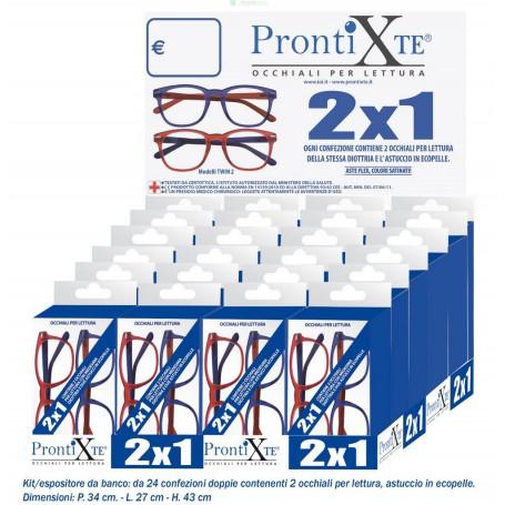 "ESP.PZ.24 OCCHIALI 2X1 ""PRONTI X TE"" TWIN-2"