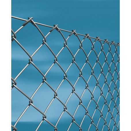 Rotolo rete per recinzione metallica da 25MT zincata A MAGLIA SCIOLTA FILO MM 1,75 ALTEZZA CM 150 H MAGLIA MM 50X50